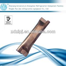 copper accumulator for refrigeration parts