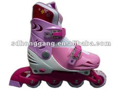109C new Casual kids Inline roller skates detachable and professional for sales PVC wheels