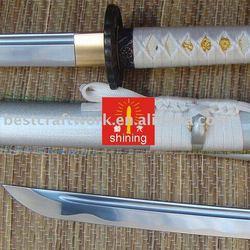 Custom Engraved Samurai Sword With Bohi Drop Shipping