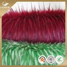 Fashion high quality new design long plush fur fabric