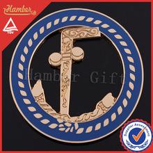 Cool masonic car cut out emblem