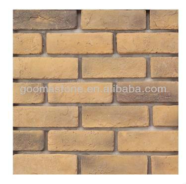 piedraartificial de ladrillo cara vista para interior y exterior de la pared