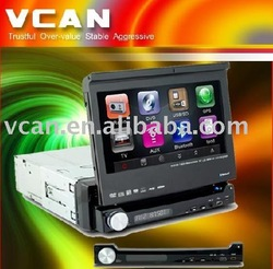 7 inch car dvd player with GPS, Blutooth,Ipod