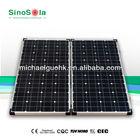 100W folding solar panel kits Camping Generator