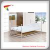 High quality modern design single metal bed furniture