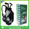 supply pu promotion item golf pen holder with clock