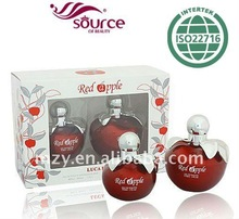 RED APPLE branded smart collection perfume 50ml glass spray perfume bottle