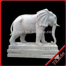 Chinese Handmade Granite Elephant Statues YL-D116
