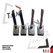 STARTER BRUSH(FT-130) ,CHINA CARBON BRUSHES FOR TOYOTA