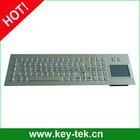 81keys Stainless steel numeric metal keyboard