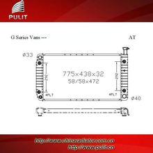 Auto radiator for Chevrolet Express DPI 2042 Car radiator auto parts