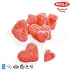 Heart shape soft gummy candy