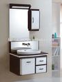 tamanho pequeno canto moderno vaidade do banheiro do armário