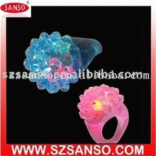 Plastic Glitter Ring