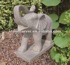 Animal Elephant Stone Sculpture