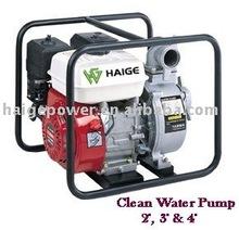 """gasoline clean water pump 22 meter head 4"""""""