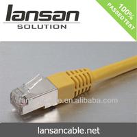 Bare Copper Cat5E FTP Patch Cord Cable