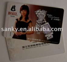 Promotion card for brand watch shop