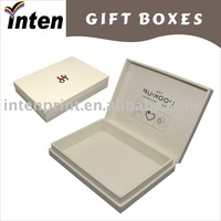 Clamshell packing gift box shenzhen 5 years gold supplier paper cigar box
