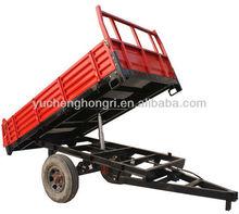 7CX-3 3tons Light Duty Hydraulic Farm Tractor Trailer