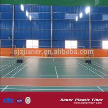 indoor badminton court pvc vinyl sports flooring