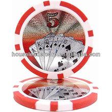 Royal Flush Poker Chip