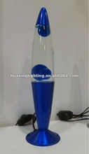 "Wedding stage decoration 16"" brandnew blue lava lamp"