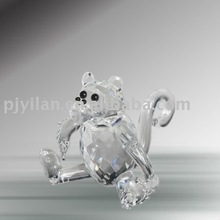 elegant crystal monkey figurines animal glass monkey