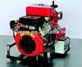 Bj-20b portátil de alta pressão bombas de água de irrigação diesel