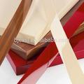 Les plus populaires trefile 1*19 couleur unie à partir de virgin pvc rigide bord de meubles