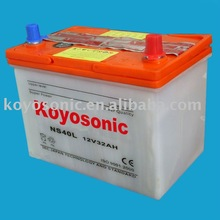 Produce Reliable Quality JIS Standard 12V Lead Acid Dry Automobile Battery for Starting-12V32AH