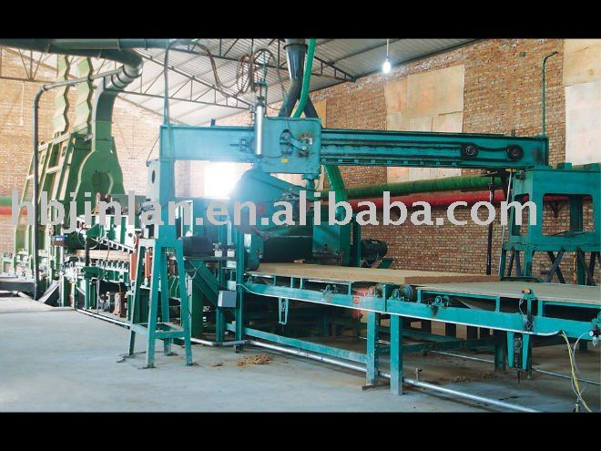 MDF Production Line (Multi-Opening Hot Press)