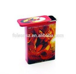 fashionable tobacco tin cases