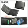 2015 latest design genuine leather wallet removable card holder