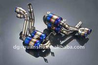 Full titanium muffler exhaust for Porsche 997