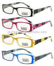 Fashion Plastic Reading Glasses/Presbyopic Glasses/Magnifying Glass