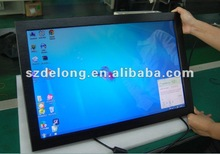 22'' IR Multi touch screen kiosk with LED backlight