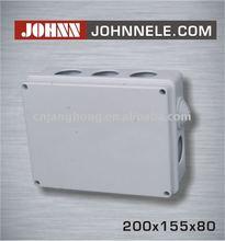 200x155x80 Electric enclosures, Junction Box, Plastic weatherproof box