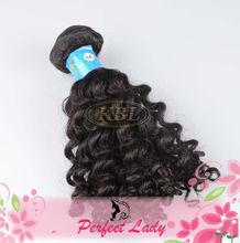 KBL guangzhou natural curly brazilian remy human hair manufacturer