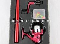 Pen Fishing Pole Pocket Suit-1m Pen fishing Rods And Reel Pen Rod Fishing