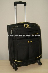 trolley travel bag suitcase travelling carry case luggage baggage