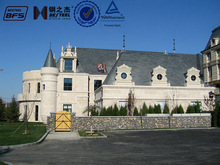 Castle Style Prefabricated Building Club