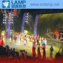 LAMP magic LED background full color indood display