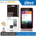 Alta claro anti- brilho telefone celular/móvel lcd pet protetor de tela para nokia asha 501