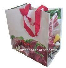 PP Glossy Laminated Woven cheap Tote Bag