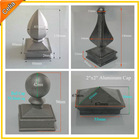 Custom Aluminum Square Post Cap