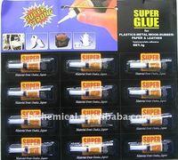 502 super glue cyanoacrylate adhesive 3g aluminum tube