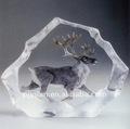 คริสตัลที่ระลึก, คริสตัลสัตว์ภูเขาน้ำแข็งคริสตัลหรูหราภูเขาน้ำแข็งในกวาง,