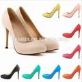 Grande tamanho popular vestido e drance sapato para senhora senhoras sapatos de salto alto