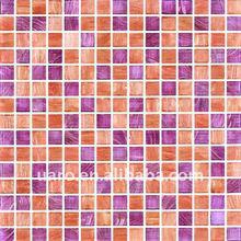 dream color iridescent glass goldline mosaic tile